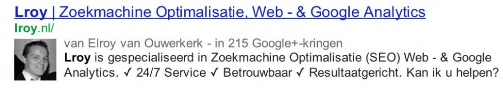 Google Auteurschap